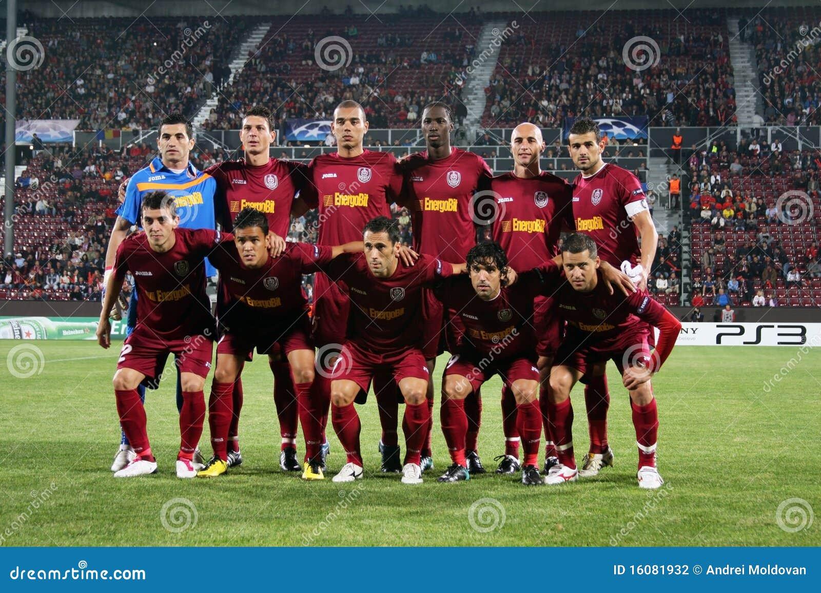 Team CFR Cluj In Champ...