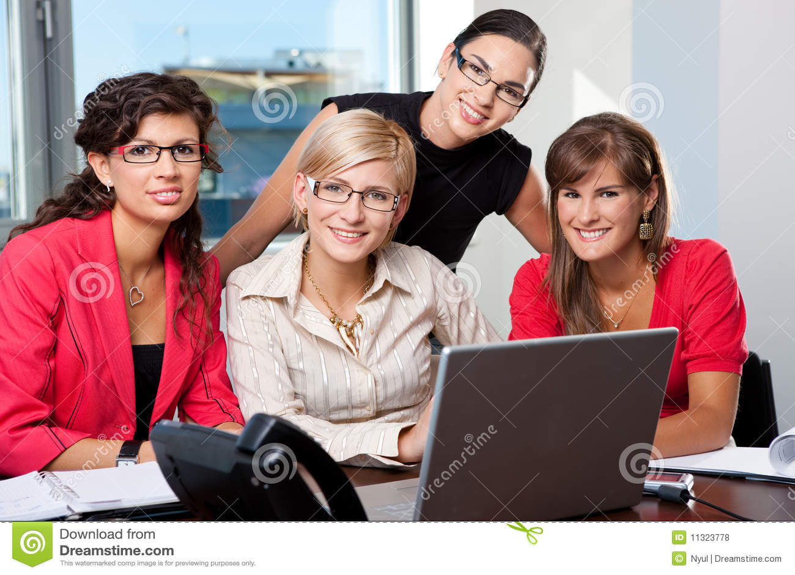 Team der Geschäftsfrauen