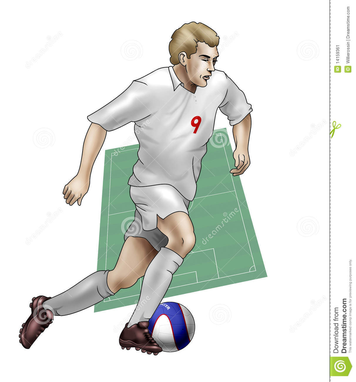 how to become a soccer player in england