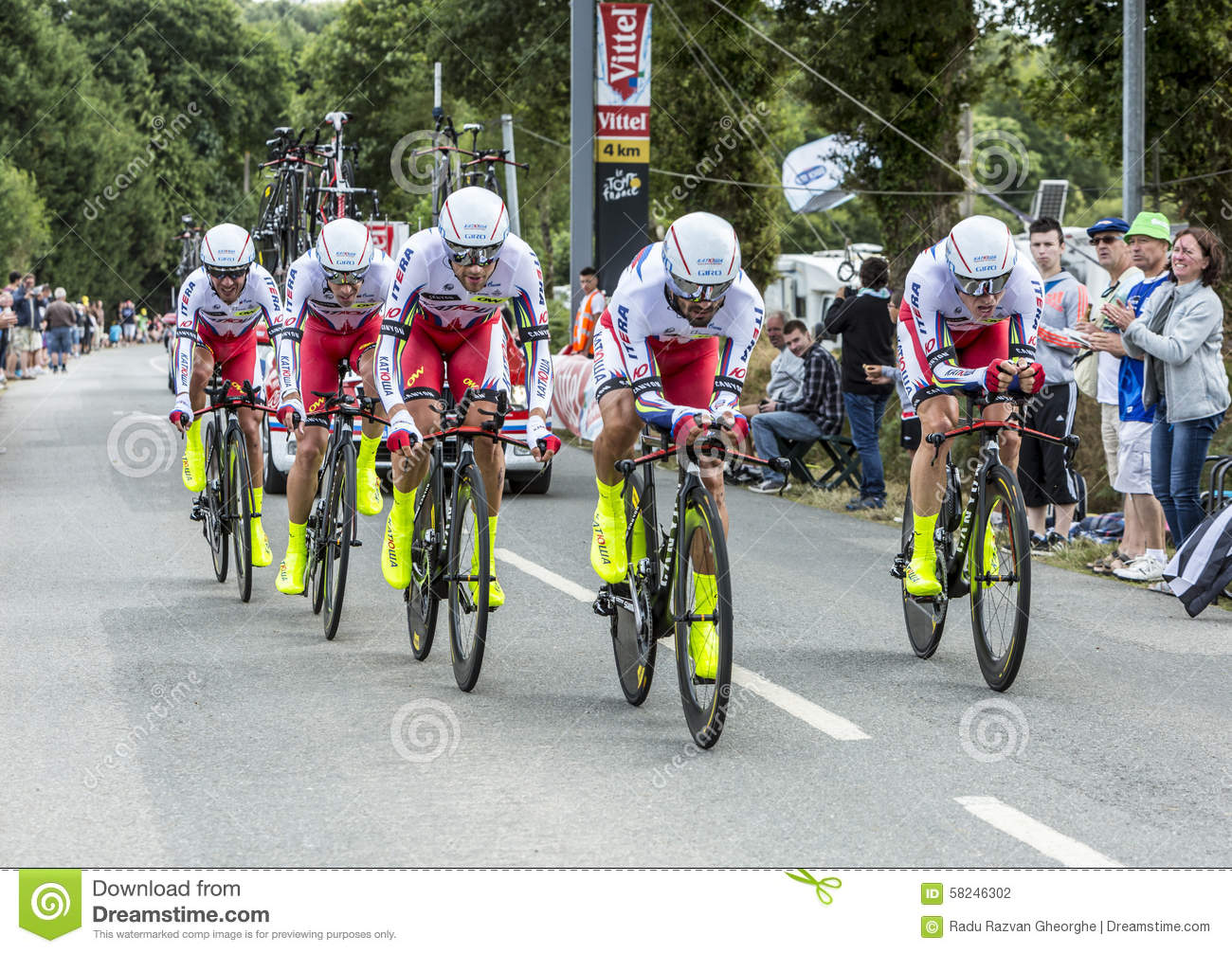 4d5e3b1cc Team Katusha - Team Time Trial 2015 Editorial Photography - Image of ...