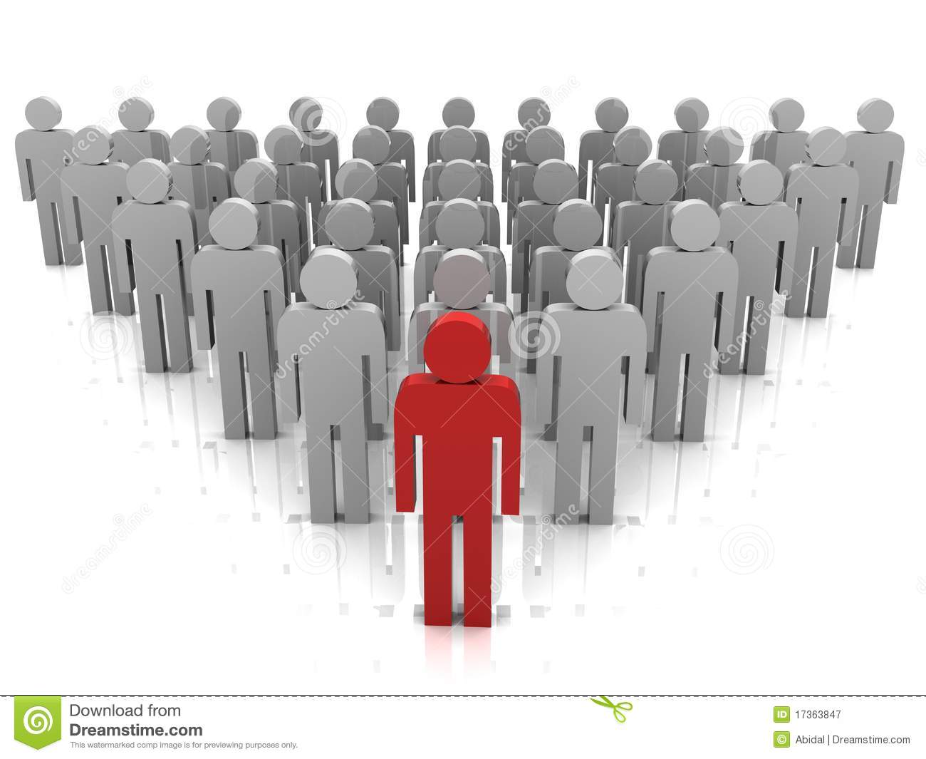 Team Leader Royalty Free Stock Photography - Image: 17363847