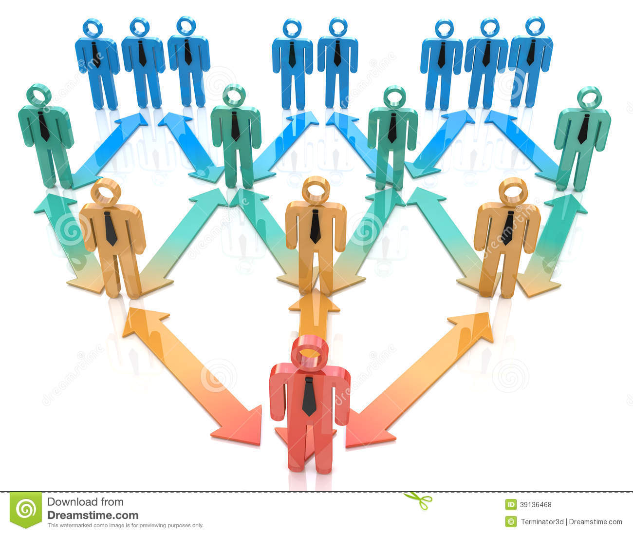 team leader organization hierarchy stock illustration image team leader organization hierarchy