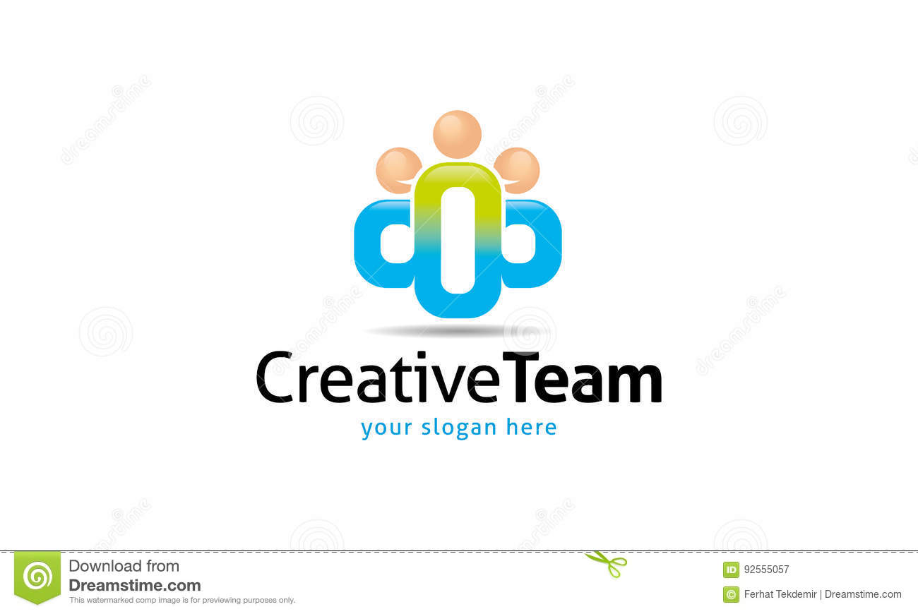 Team Logo creativo