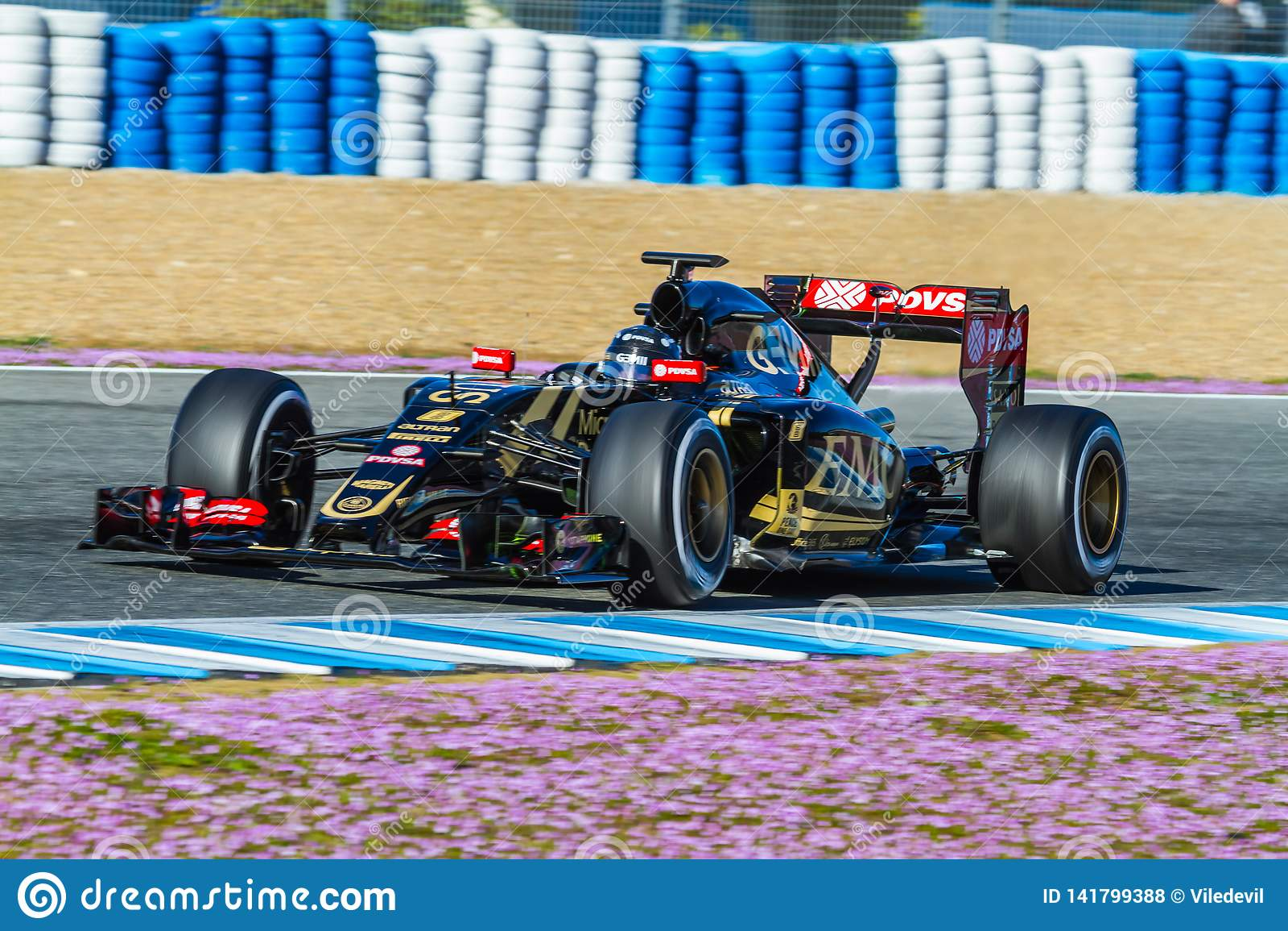 Team Lotuss F1, Romain Grosjean, 2015