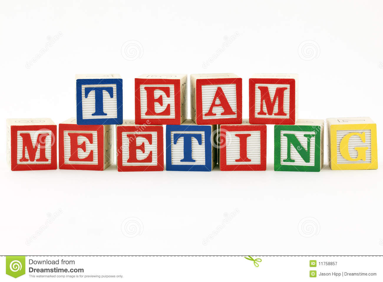 Team Meeting Royalty Free Stock Photography - Image: 11758857