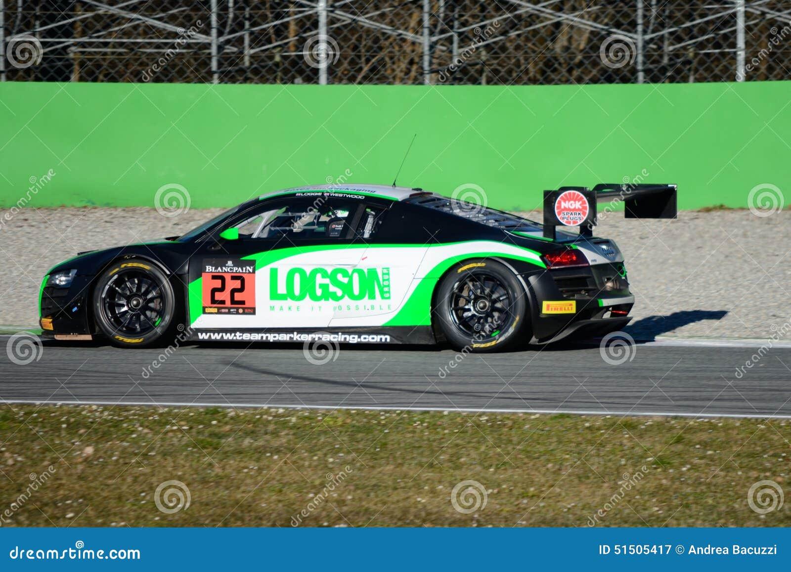 Team Parker Racing Audi R LMS Ultra Editorial Photography Image - Parker audi