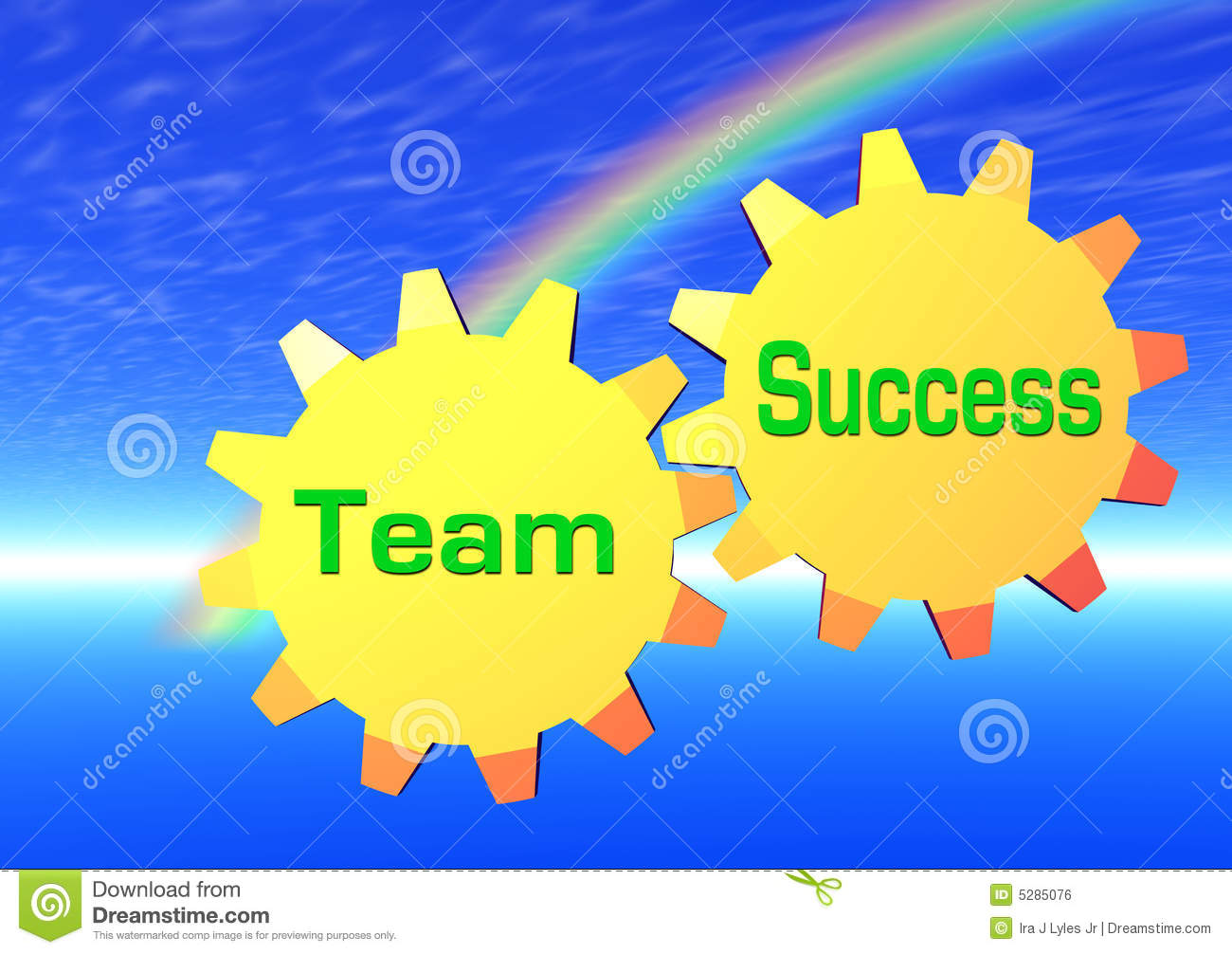 Team Success Royalty Free Stock Image - Image: 5285076