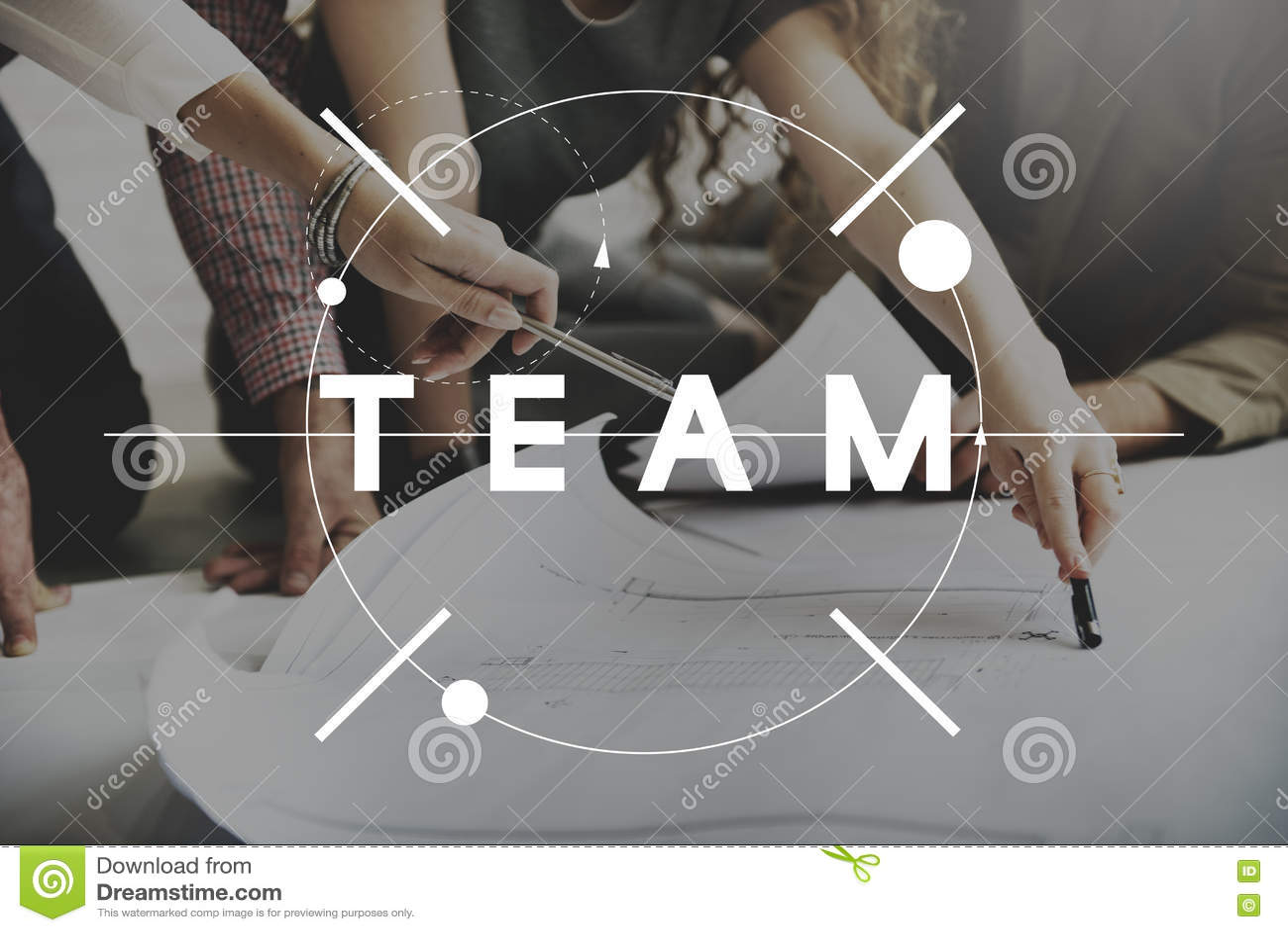 Team Teamwork Collaboration Cooperation Concept