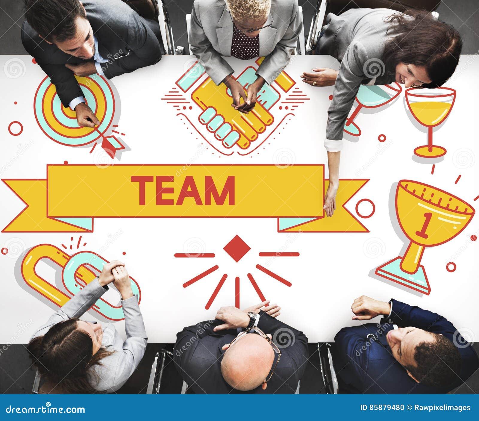 Team Teamwork Partnership Collaboration Concpet