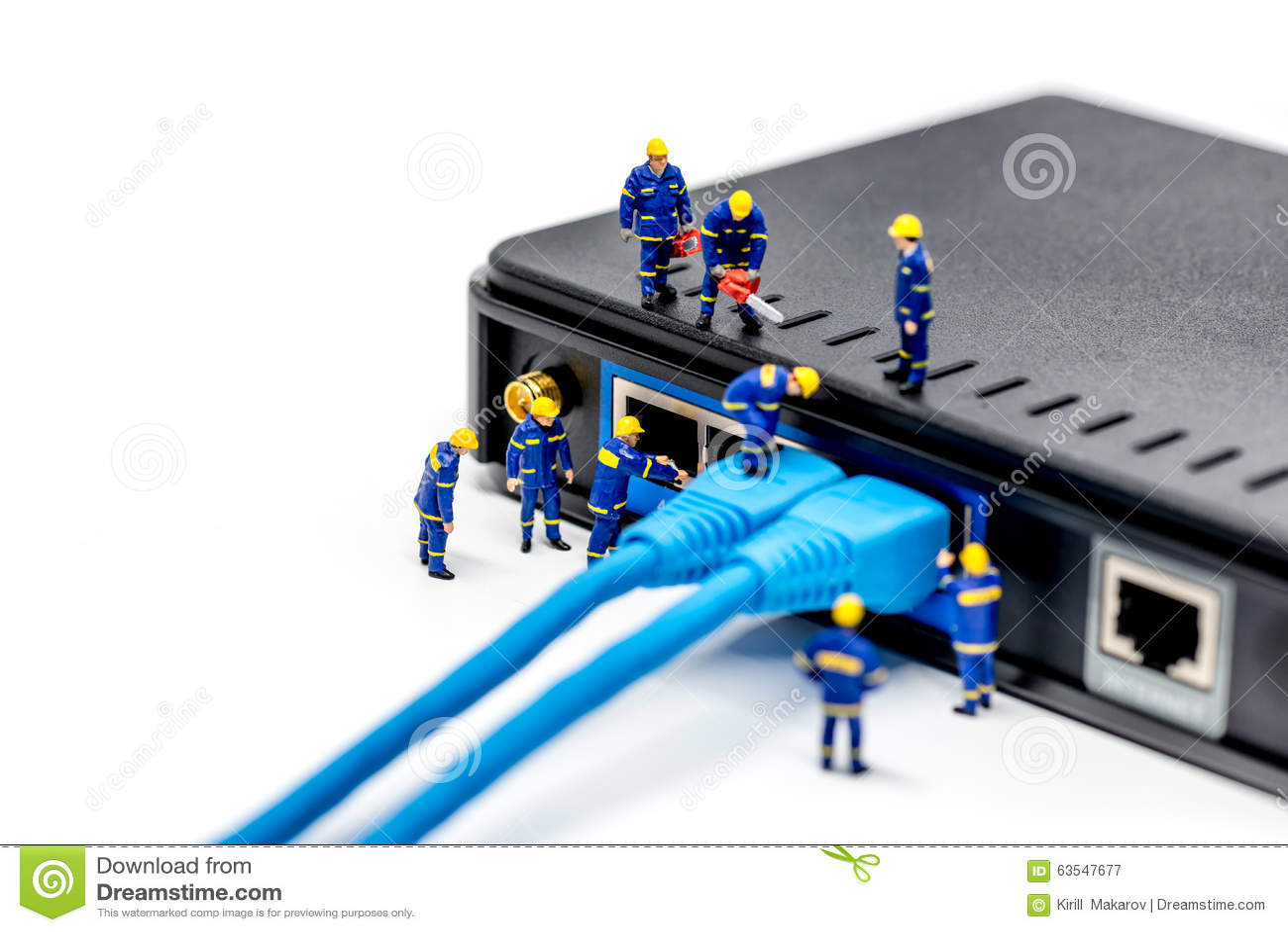 Network Cable Stock Image Cartoondealer Com 41377957