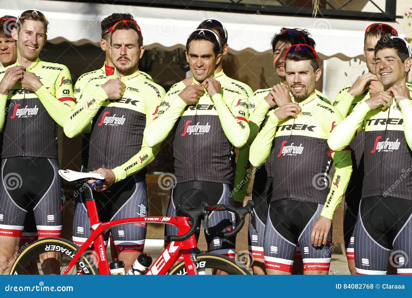 531ff7c81 ... new stage in Mallorca during his. Team Trek Segafredo with Alberto  Contador before training. Mallorca