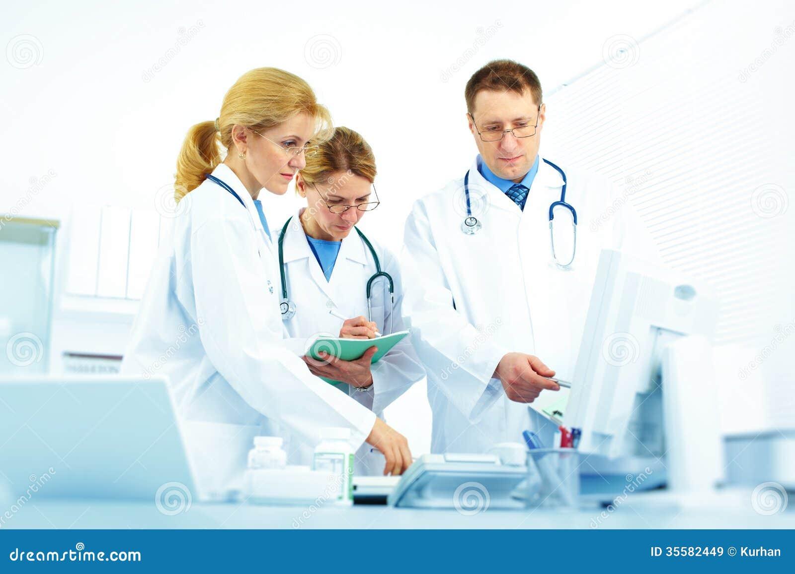 Team von Doktoren