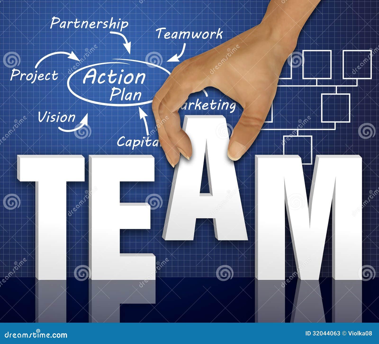 Team Words Concept Stock Photos - Image: 32044063