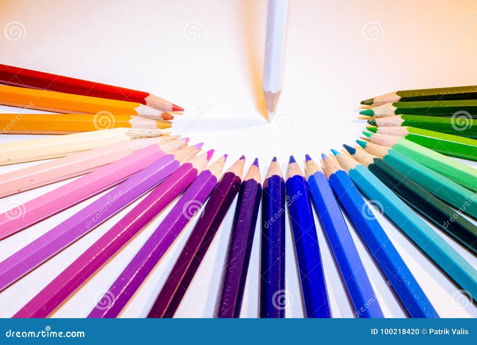 Teambeheer van kleurpotloden