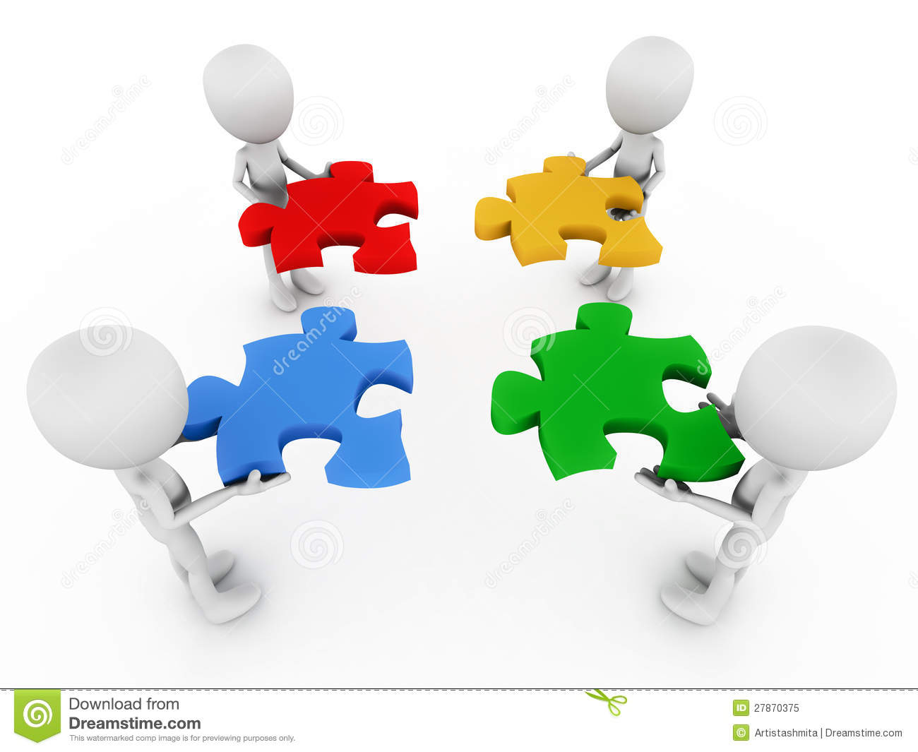 Teamwork Royalty Free Stock Photo Image 27870375