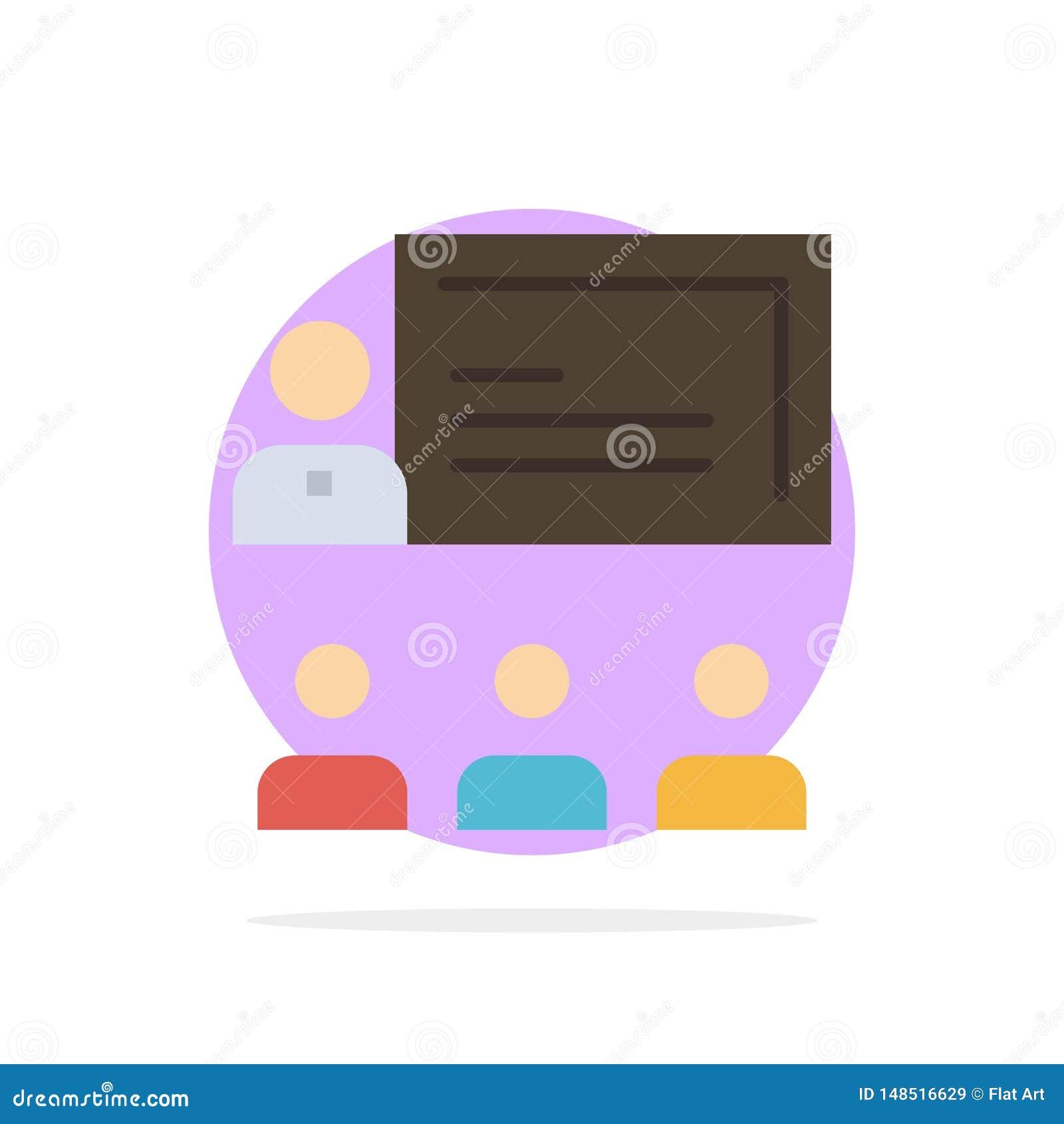 Teamwork affär, människa, ledarskap, symbol för färg för bakgrund för ledningabstrakt begreppcirkel plan
