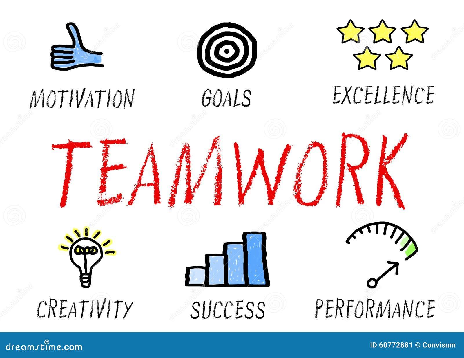 teamwork concept stock illustration image  teamwork concept