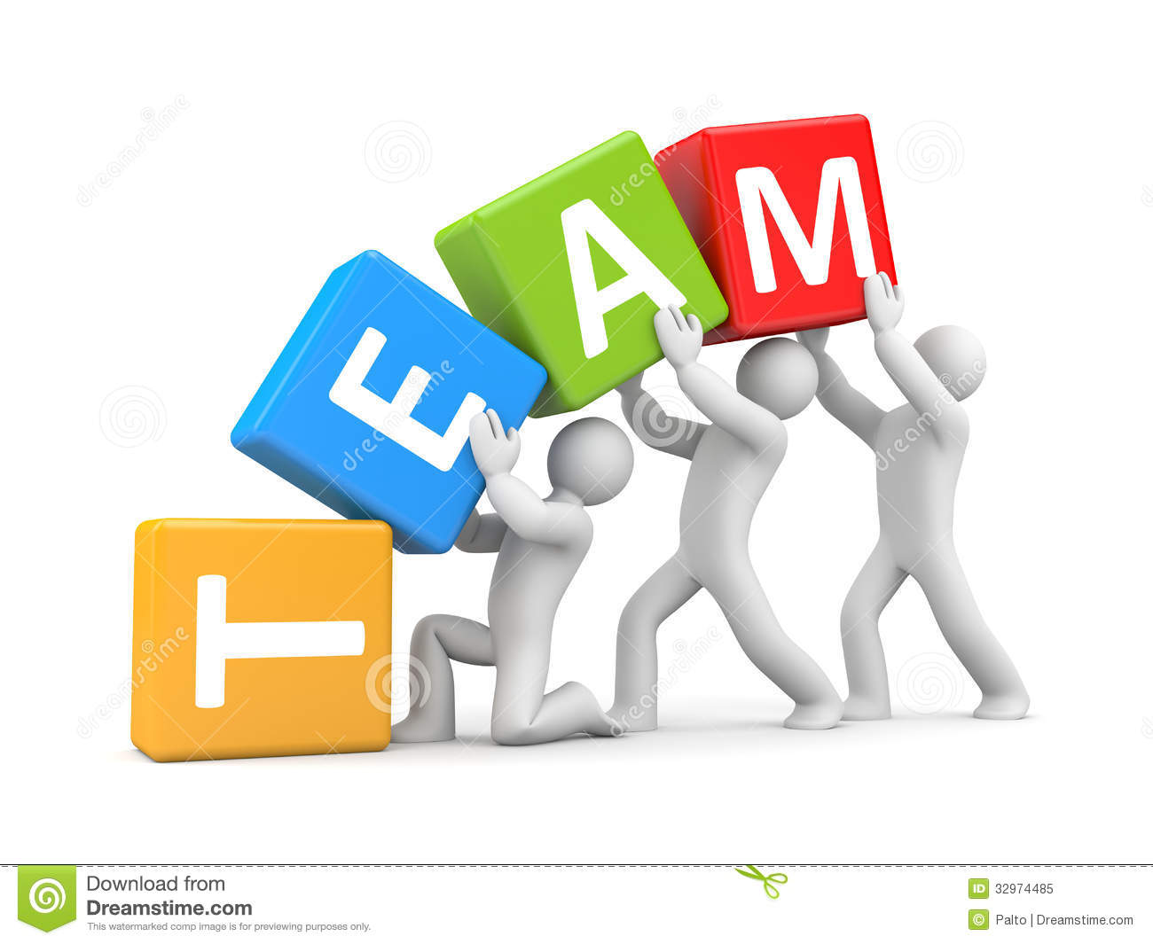 Teamwork Royalty Free Stock Photo - Image: 32974485