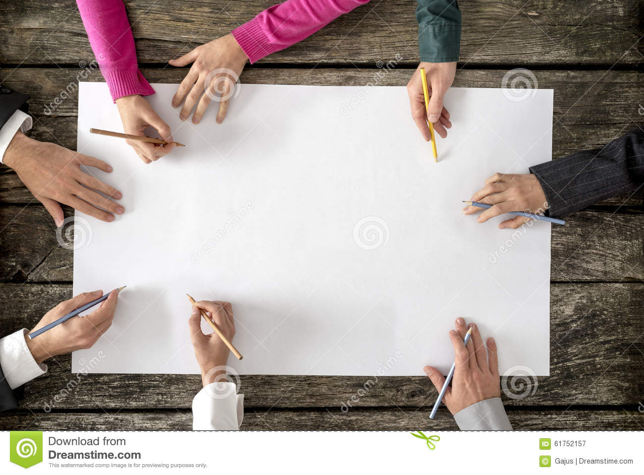 Teamwork And Cooperation Concept Royalty Free Stock