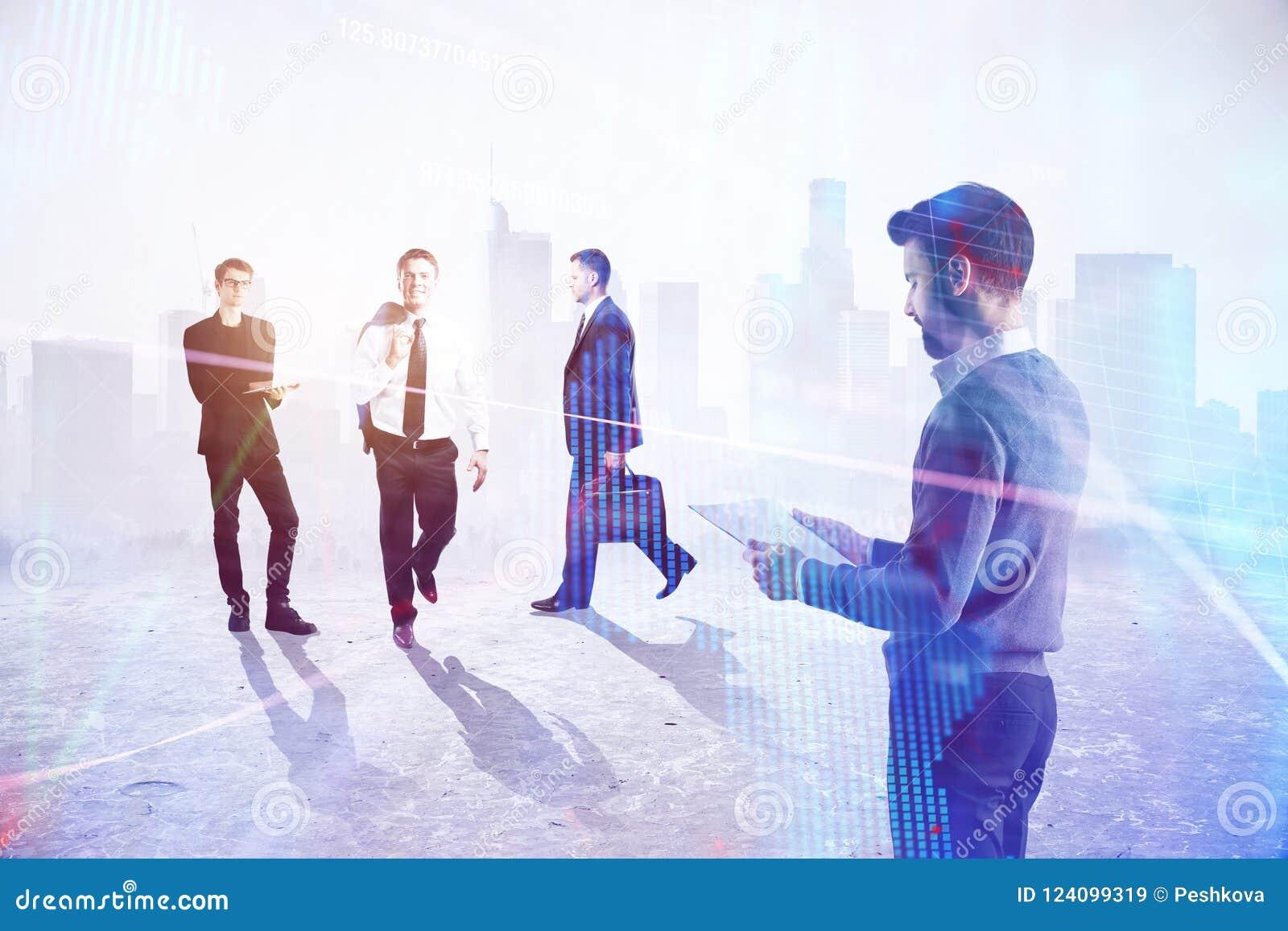 Teamwork-, framgång- och arbetsbegrepp
