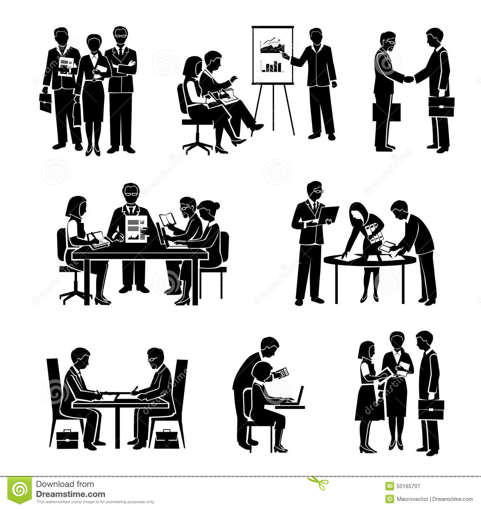 office lunch cartoon