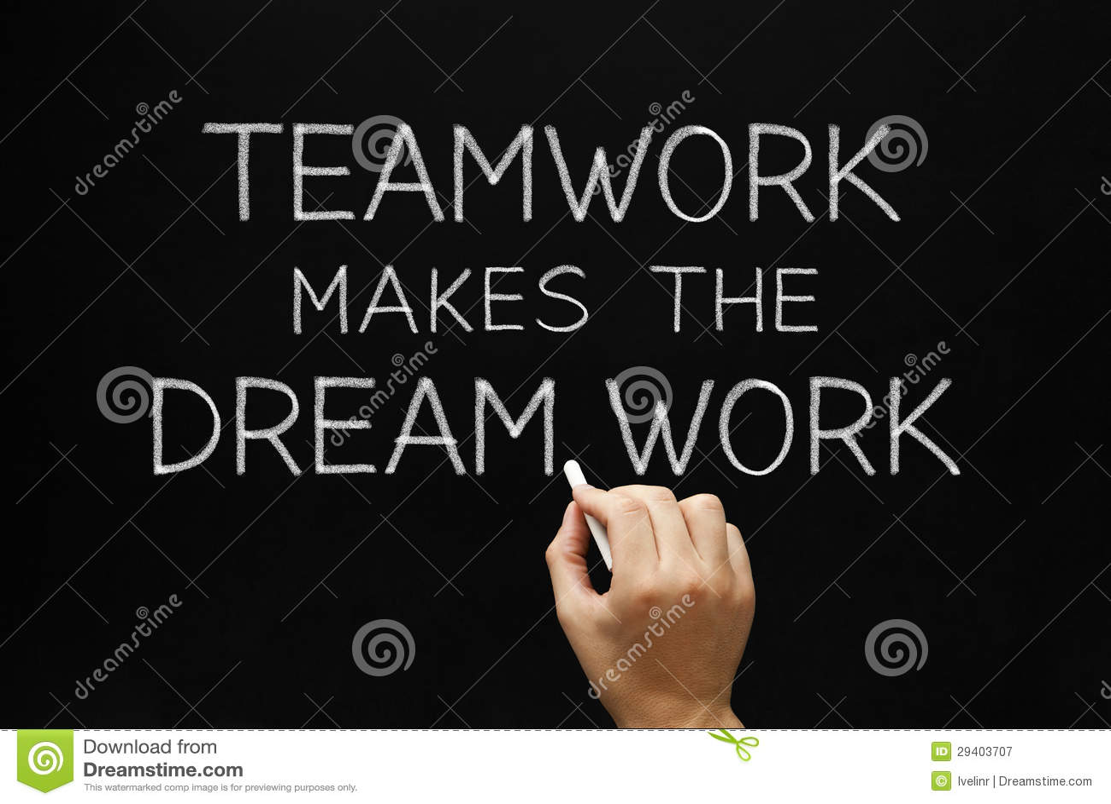 Teamwork macht die Traumarbeit