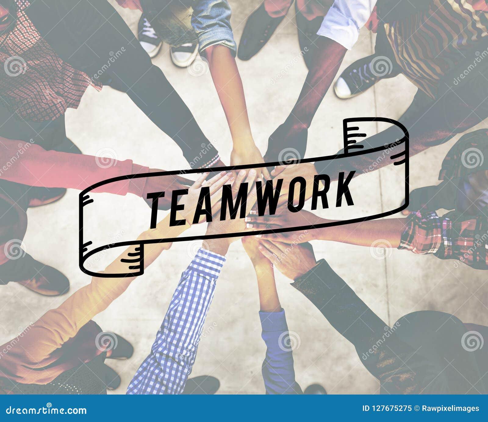 Teamwork Team Building Cooperation Relationship Concept
