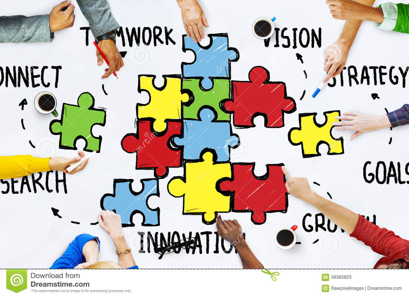 the strategy of teamwork As dave kerpen strategic consulting, i could make my own hours, determine my own success teamwork is the ability to work together toward a common vision.