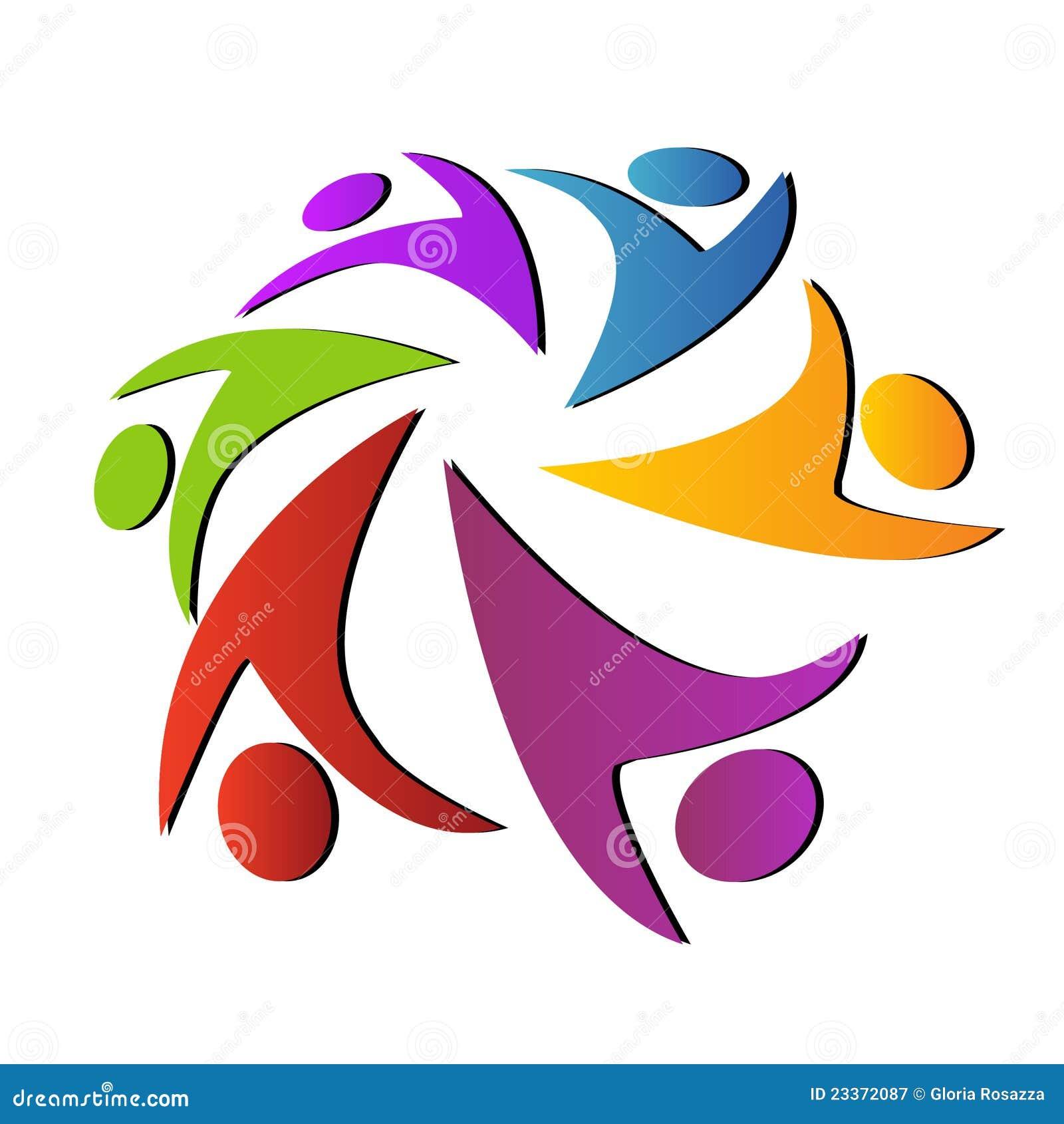 Teamwork Unity Logo Royalty Free Stock Photography - Image ...