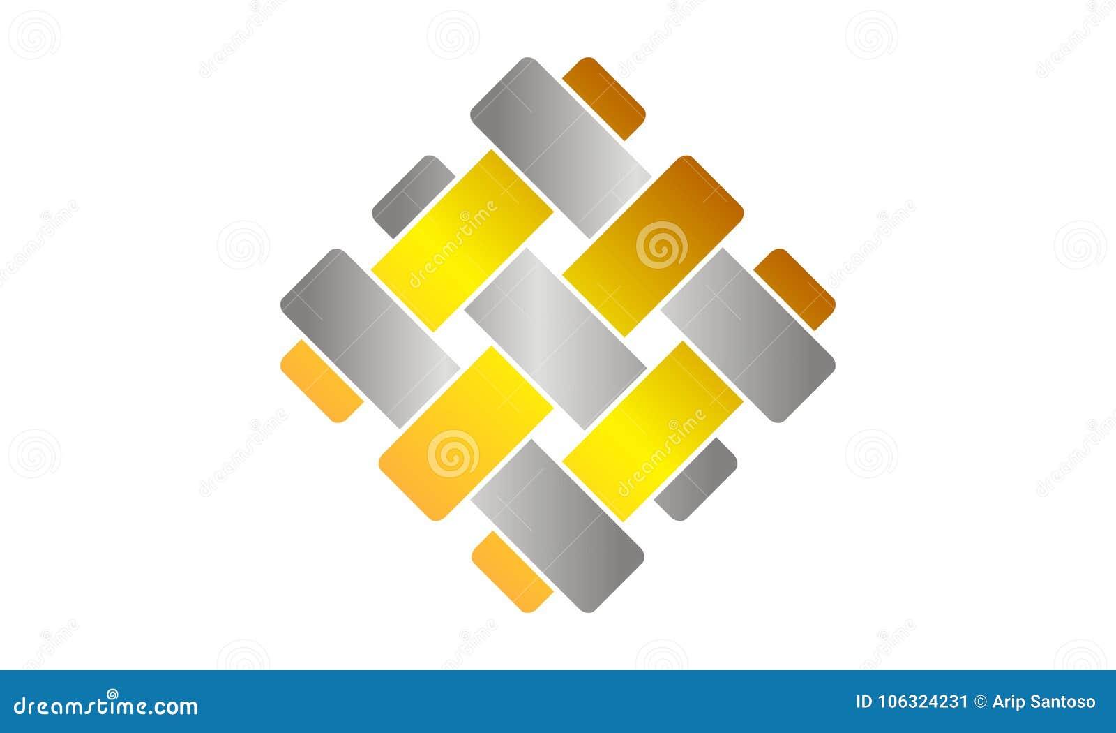 teamwork webbing logo design template stock vector illustration of