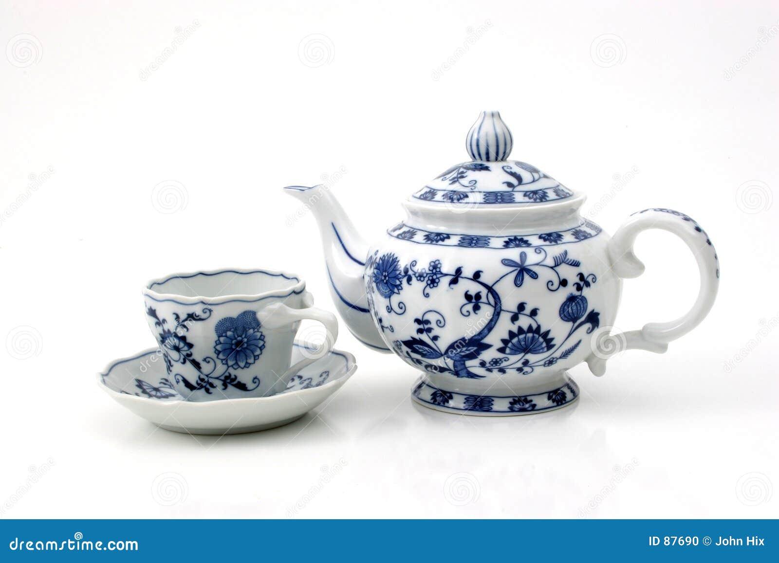 Teapot φλυτζανιών
