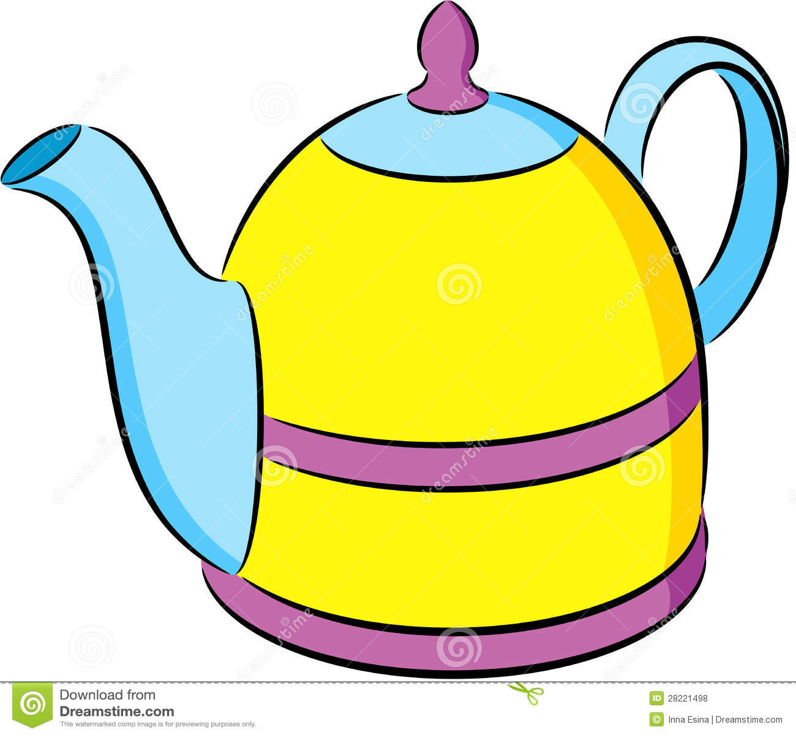 Teapot Stock Vector Illustration Of Isolated Bubble 28221498