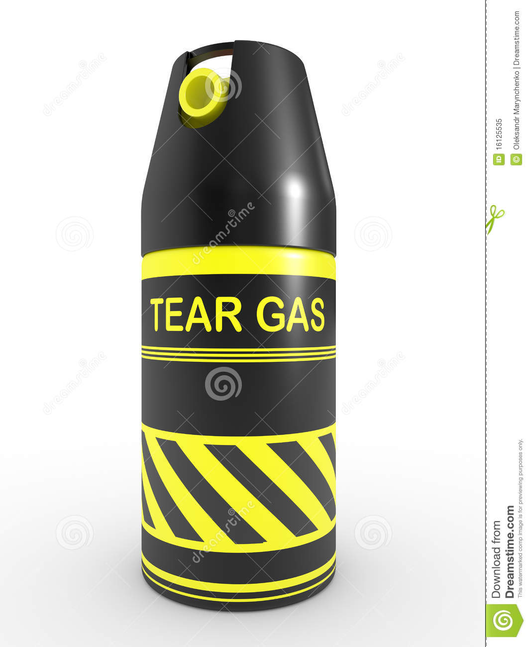 Tear Gas Royalty Free Stock Photo - Image: 16125535