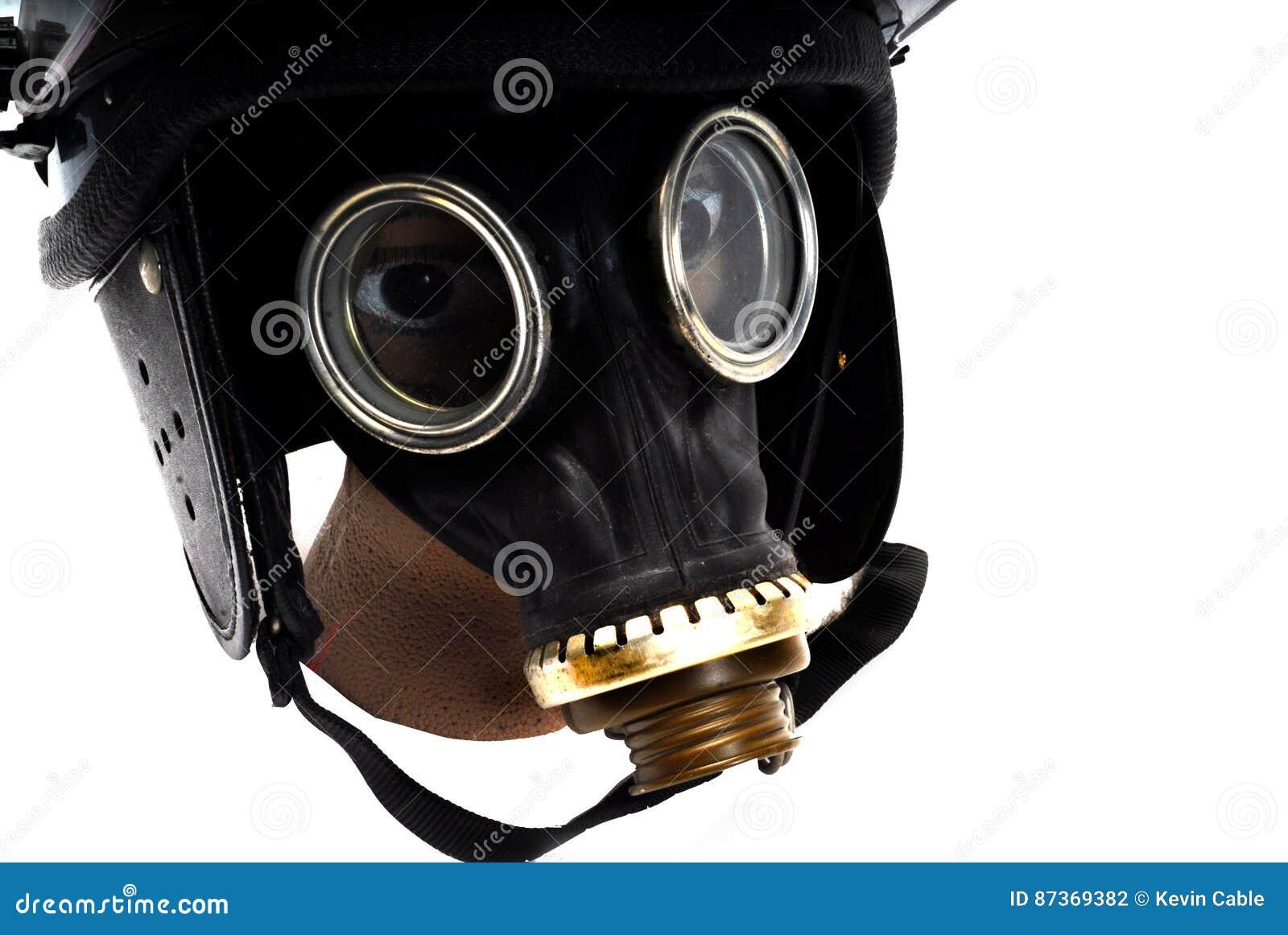 Teargass maska