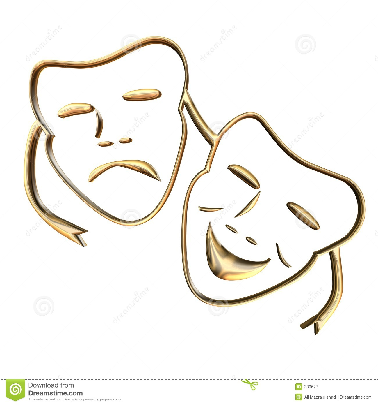 Teather Mask Royalty Free Stock Photography - Image: 330627