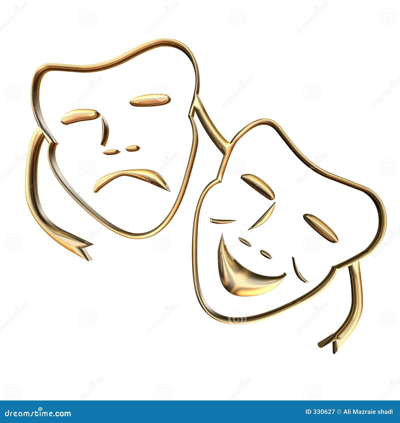 Teather Mask Royalty Free Stock Photography - Image: 330627