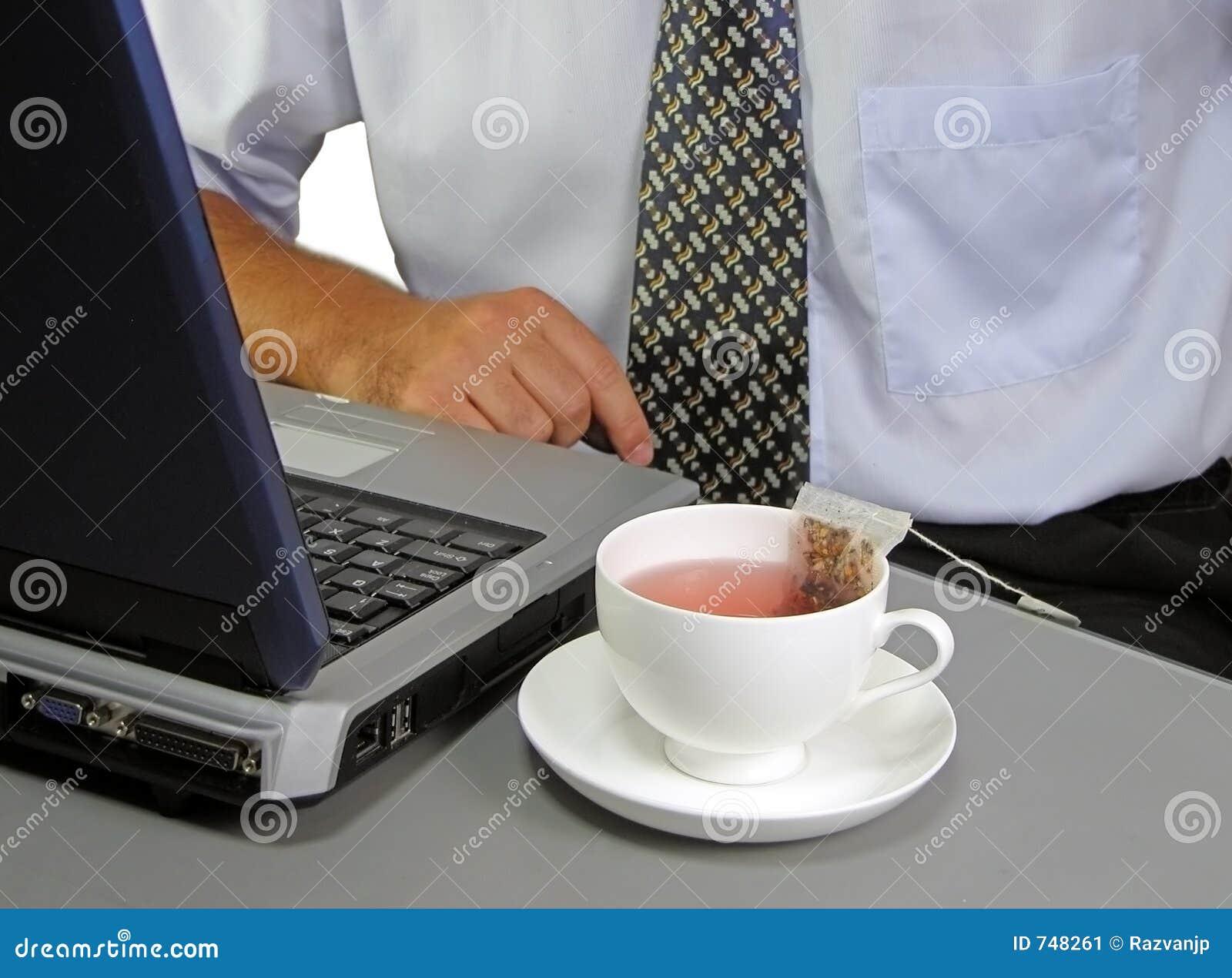 Teatid för 2 affär