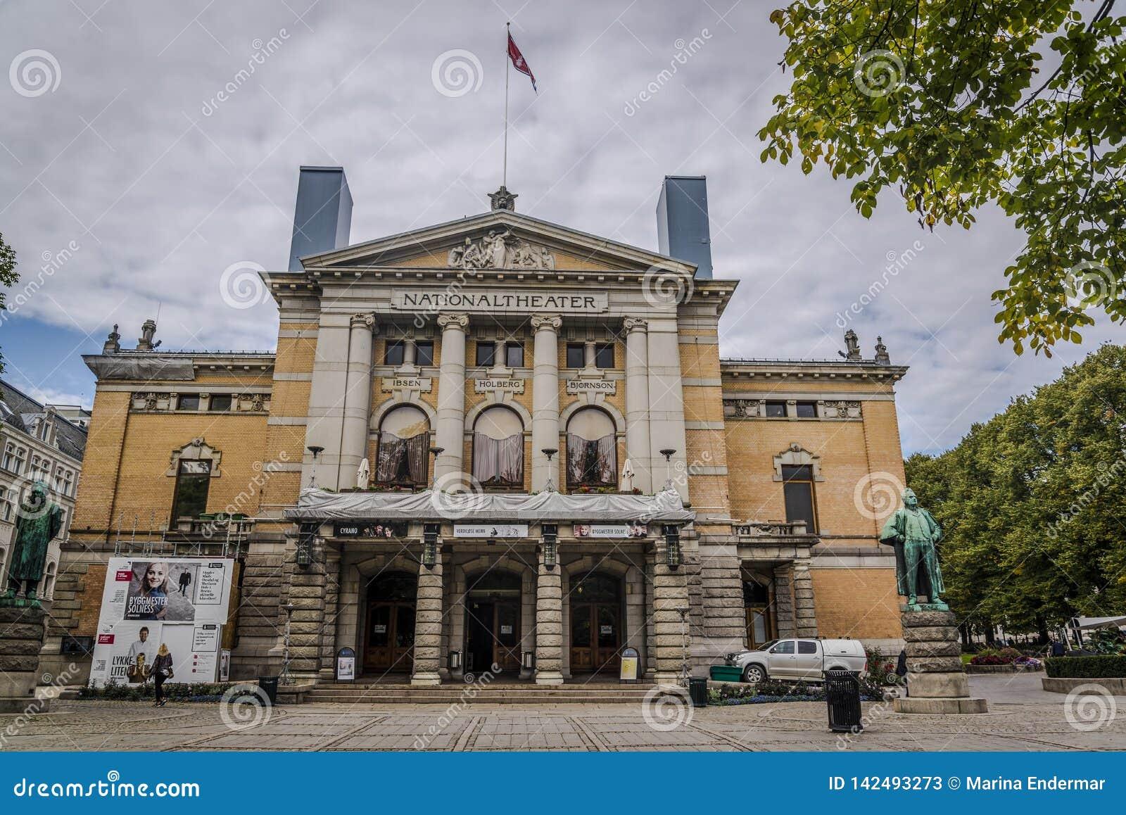 Teatr Narodowy, Oslo, Norwegia