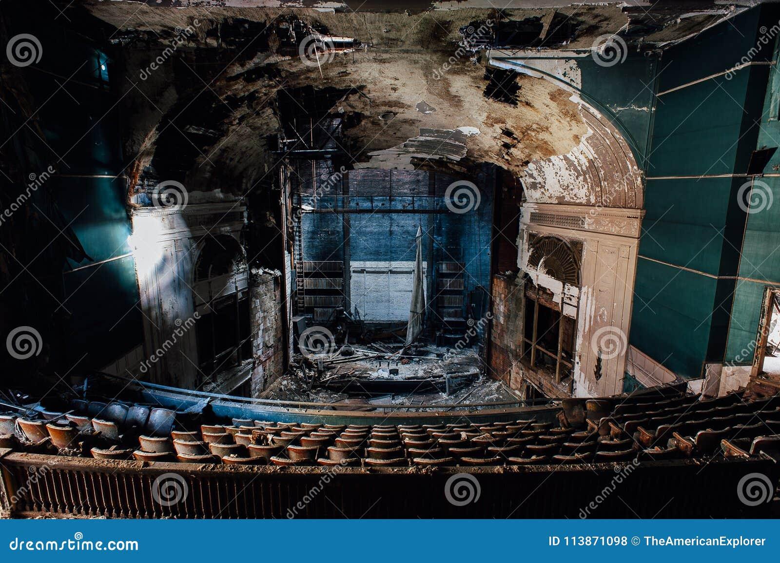 Teatro abandonado de Paramount - Youngstown, Ohio