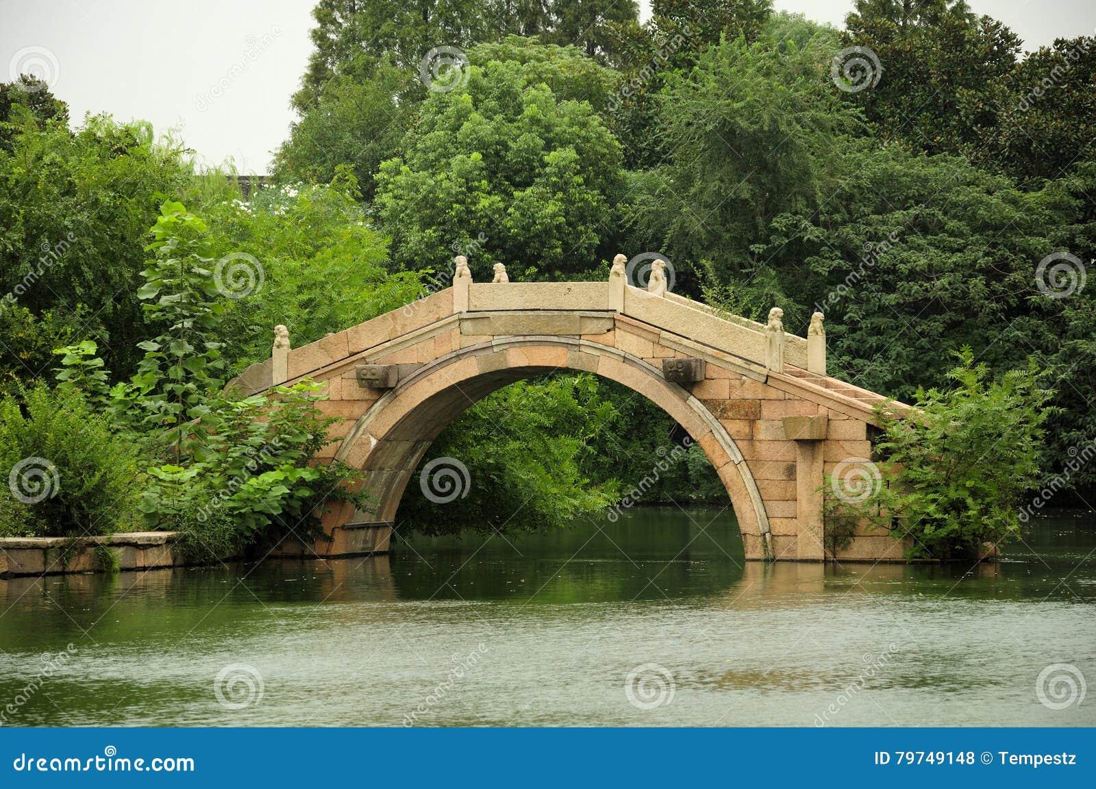 Teatro arqueado del agua de Wuzhen del puente