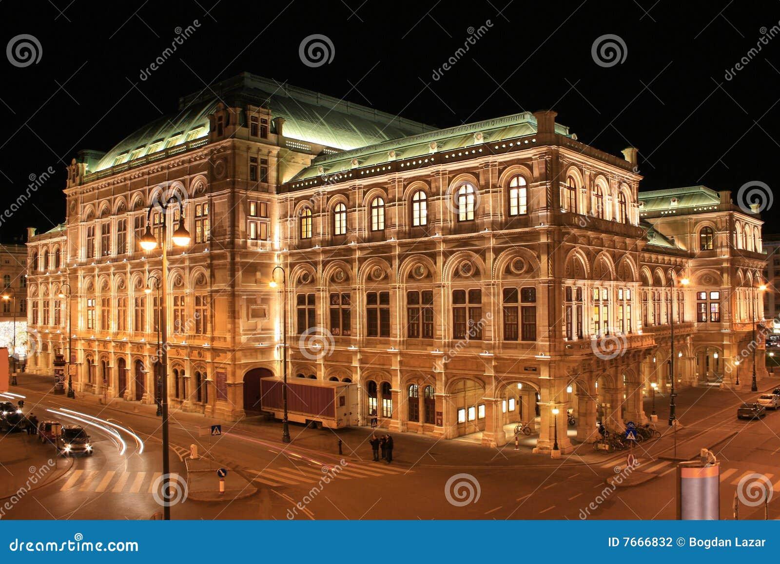 Teatro da ópera 01 do estado, Viena, Áustria