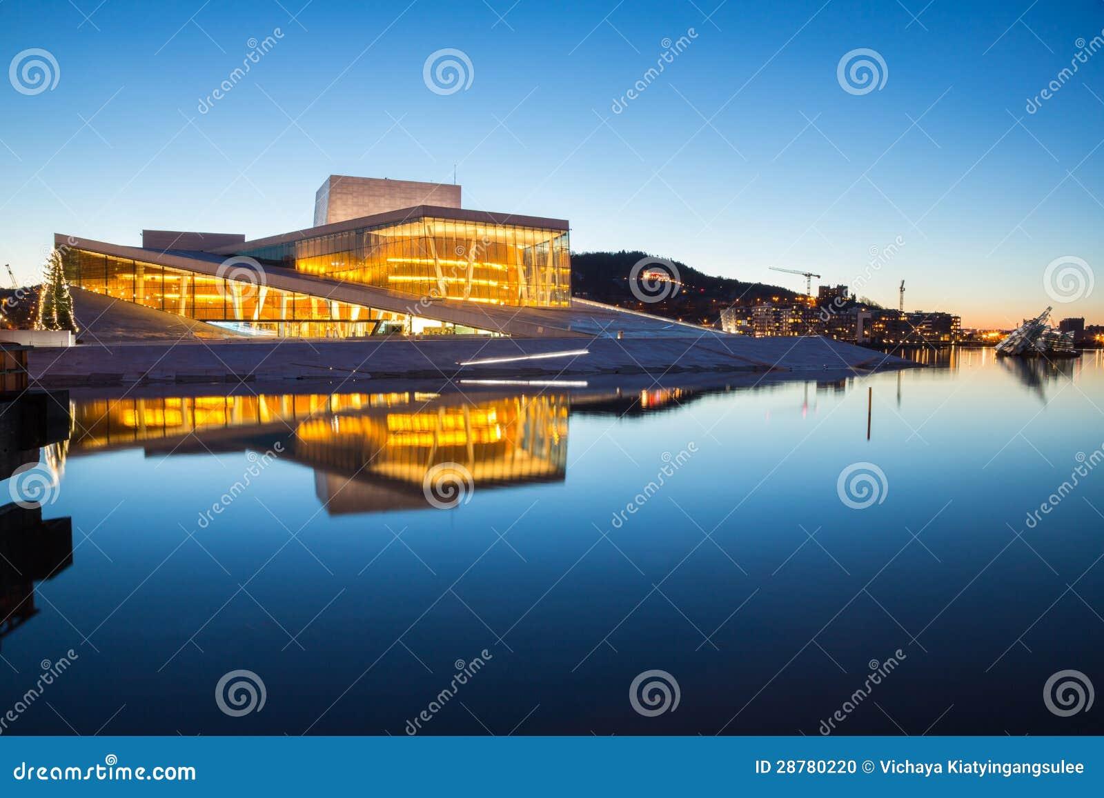 Teatro da ópera de Oslo