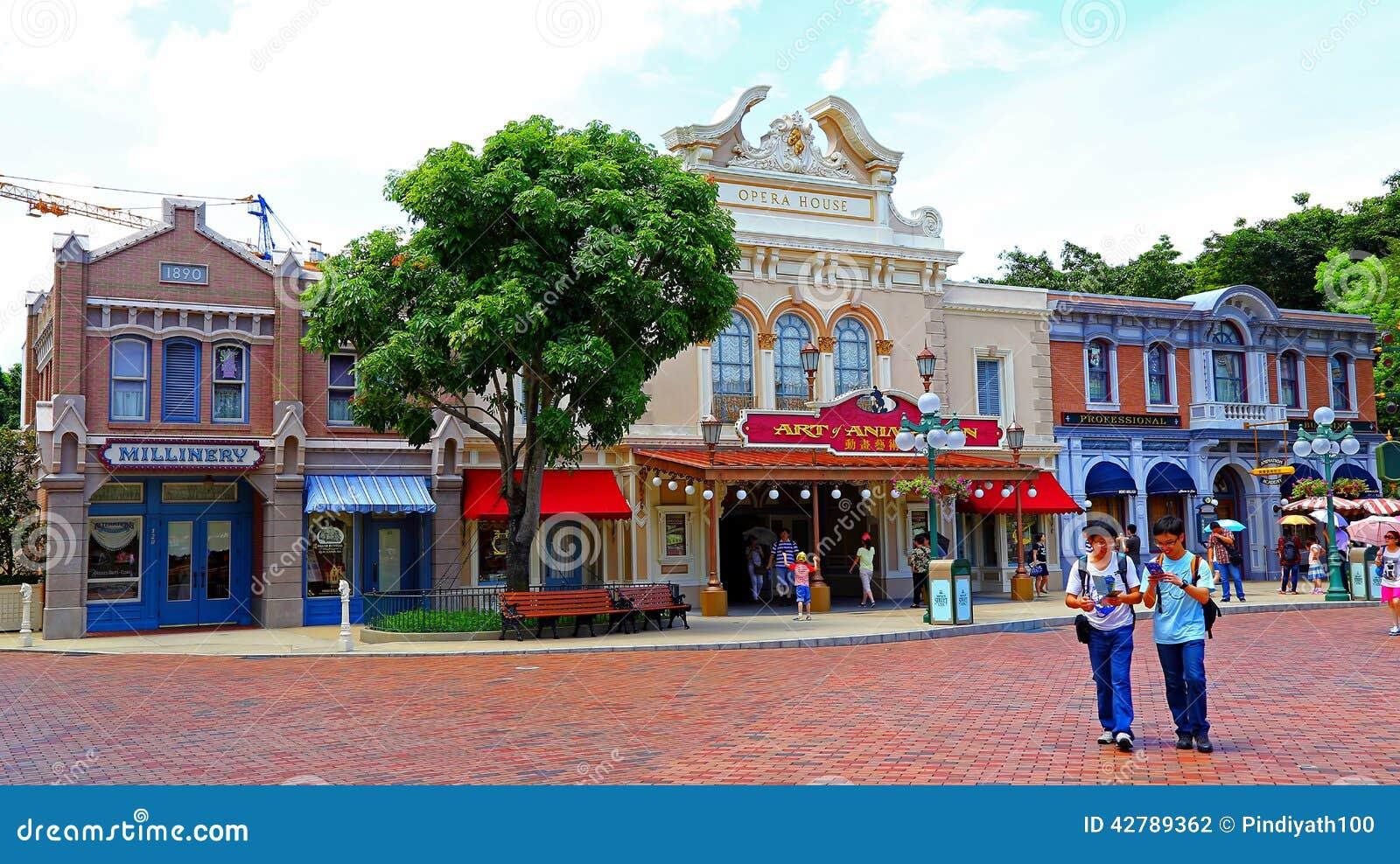Teatro de la ópera de Hong-Kong Disneyland