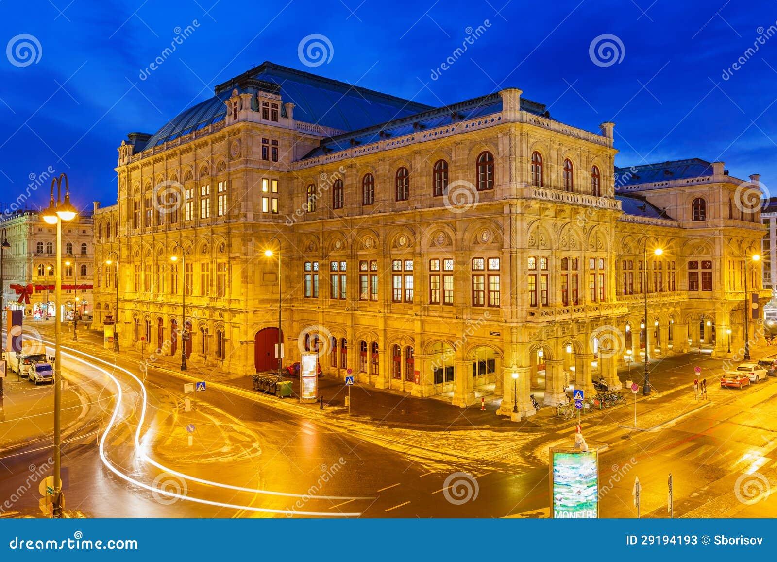 Teatro de la ópera del estado, Viena, Austria