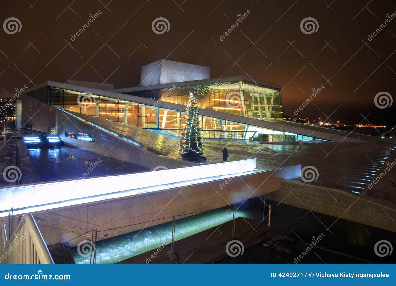 Teatro de la ópera Noruega de Oslo