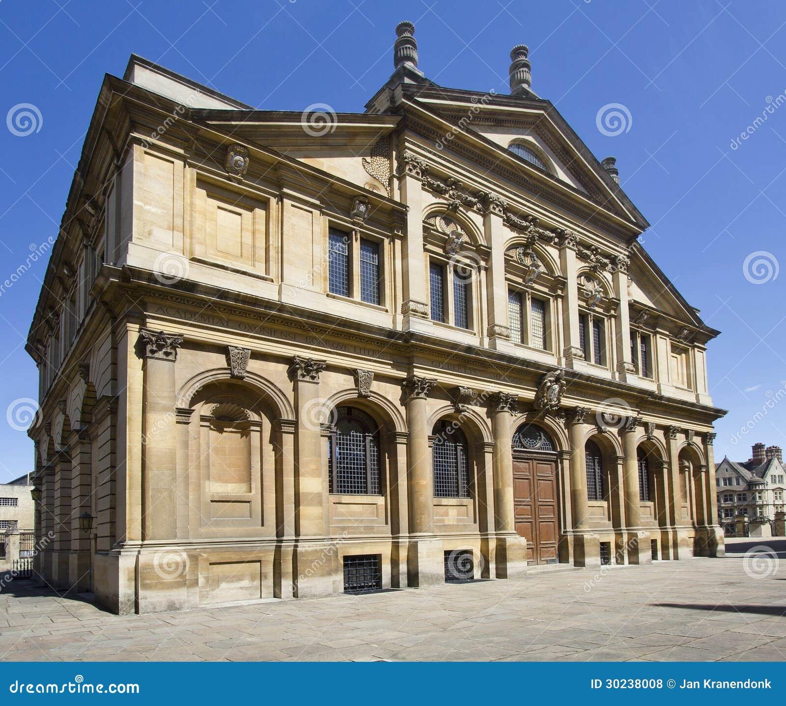 Teatro de Sheldonian em Oxford
