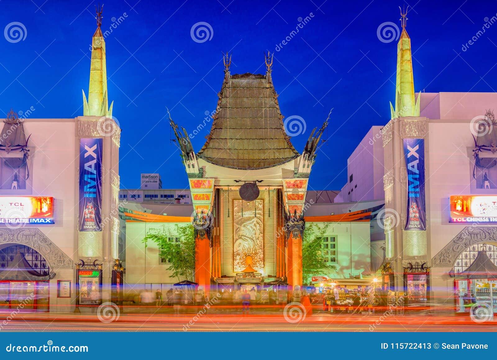 Teatro del chino del ` s de Grauman