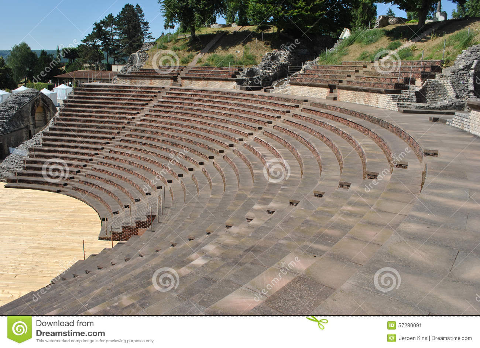 Teatro di Augusta Raurica Roman