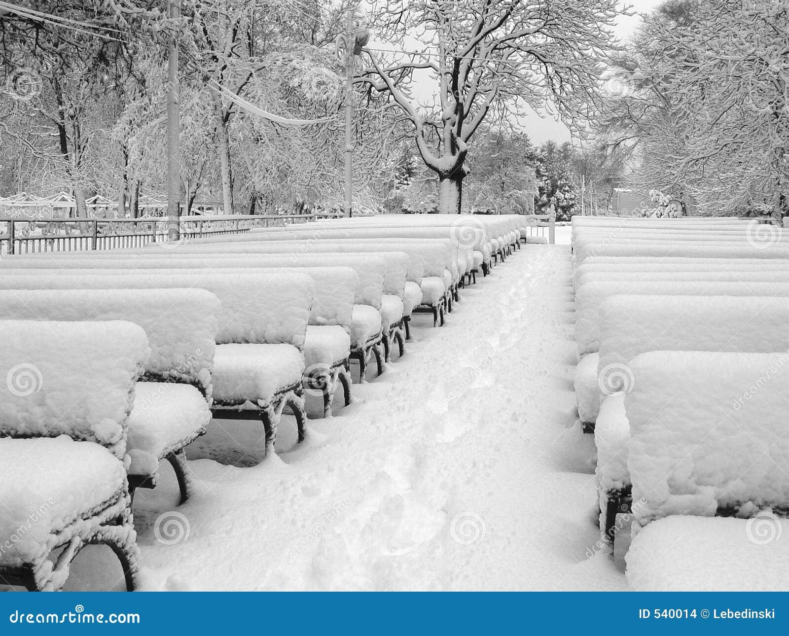 Teatro em uma neve