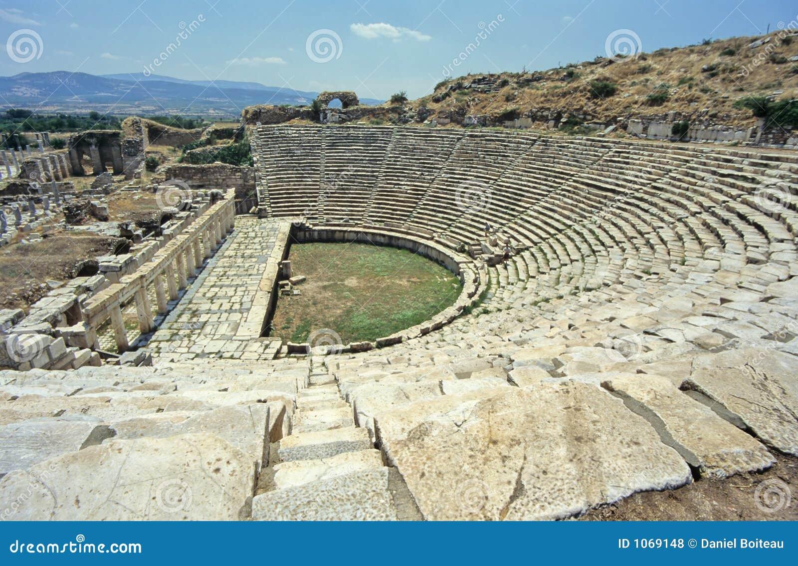 Baños Griegos Antiguos:Ancient Greek Theatre